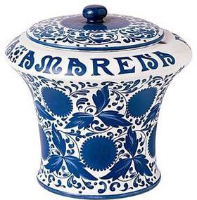 Vaso in ceramica amarena fabbri. Bel vaso vintage,anni 1905,ideale come collezione antiquariato.Rimasto perfettamente intatto,realizzato in ceramica. Lecce.