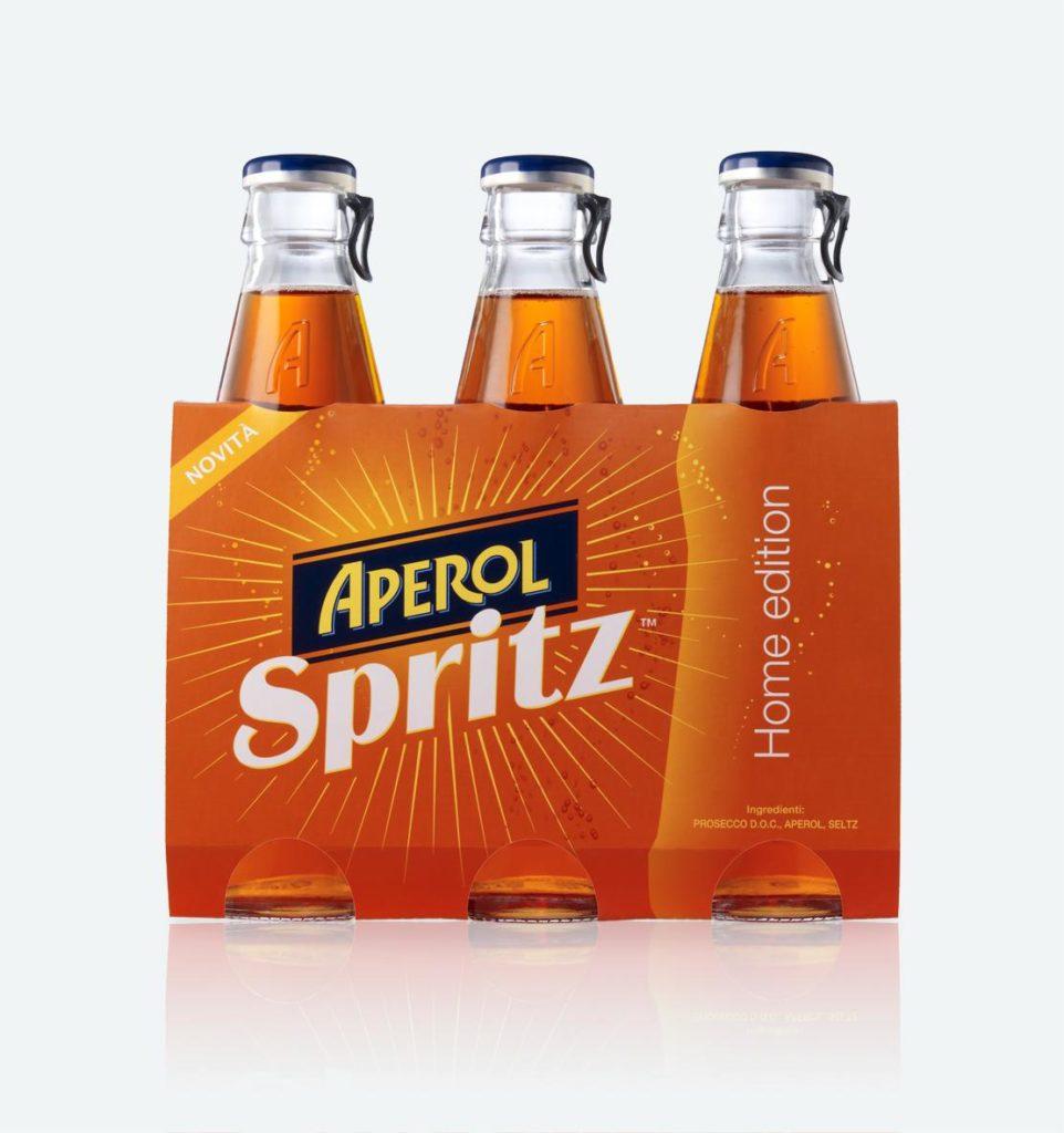Aperol Spritz, l'aperitivo dal gusto unico che dal Triveneto ha conquistato l'Italia intera, finalmente entra nelle case: un prodotto nuovo, già fatto.